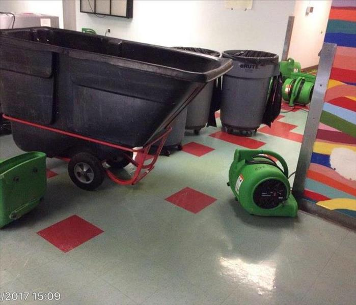 Commercial Water Loss in Alexandria School Before