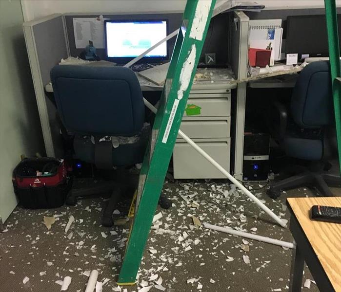 Commercial cleanup from a workplace accident in Alexandria, VA
